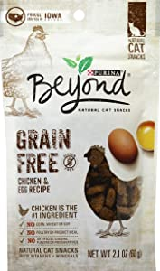 Purina Beyond Grain Free Chicken & Egg Recipe - 2.1 oz Pouch