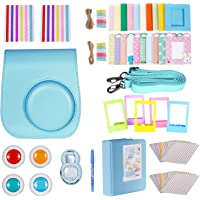 Neewer 10 in 1 Accessories Kit For Fujifilm Instax Mini 8/8s/8+/9 Include Camera Case/Album/Selfie Lens/4*Colored Filters/5*Film Table Frames/20*Wall Hanging Frame/40*Border Stickers/2*Corner Stickers/Pen