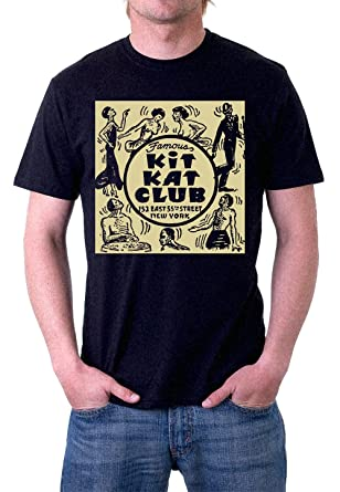 KIT KAT CLUB VINTAGE AFRICAN AMERICAN HARLEM NEW YORK CITY T-Shirt by Jerry  Jackson d1dae93c38d