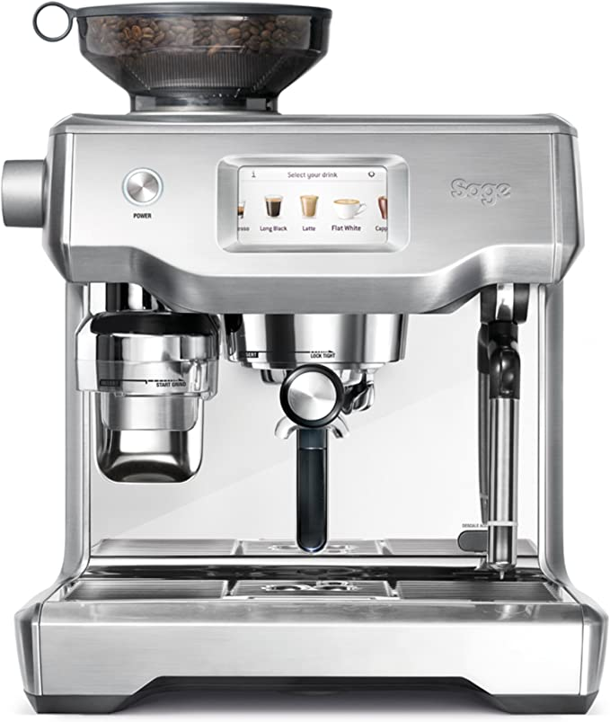 SAGE SES990 theOracle Touch, Cafetera espresso, Cappuccinatore, 15 ...