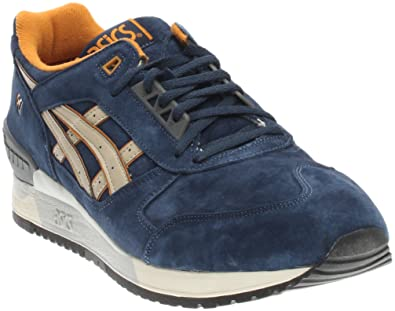 ASICS Gel Respector (Premium Casual Pack) in in Navy Sand by 7c3bca099d