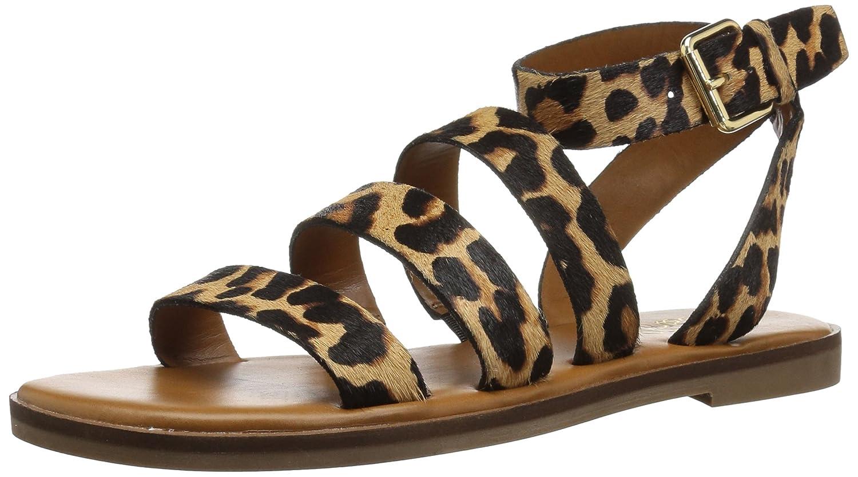 Franco Sarto Women's Kyson Flat Sandal B078VBQCF8 5.5 B(M) US Camel