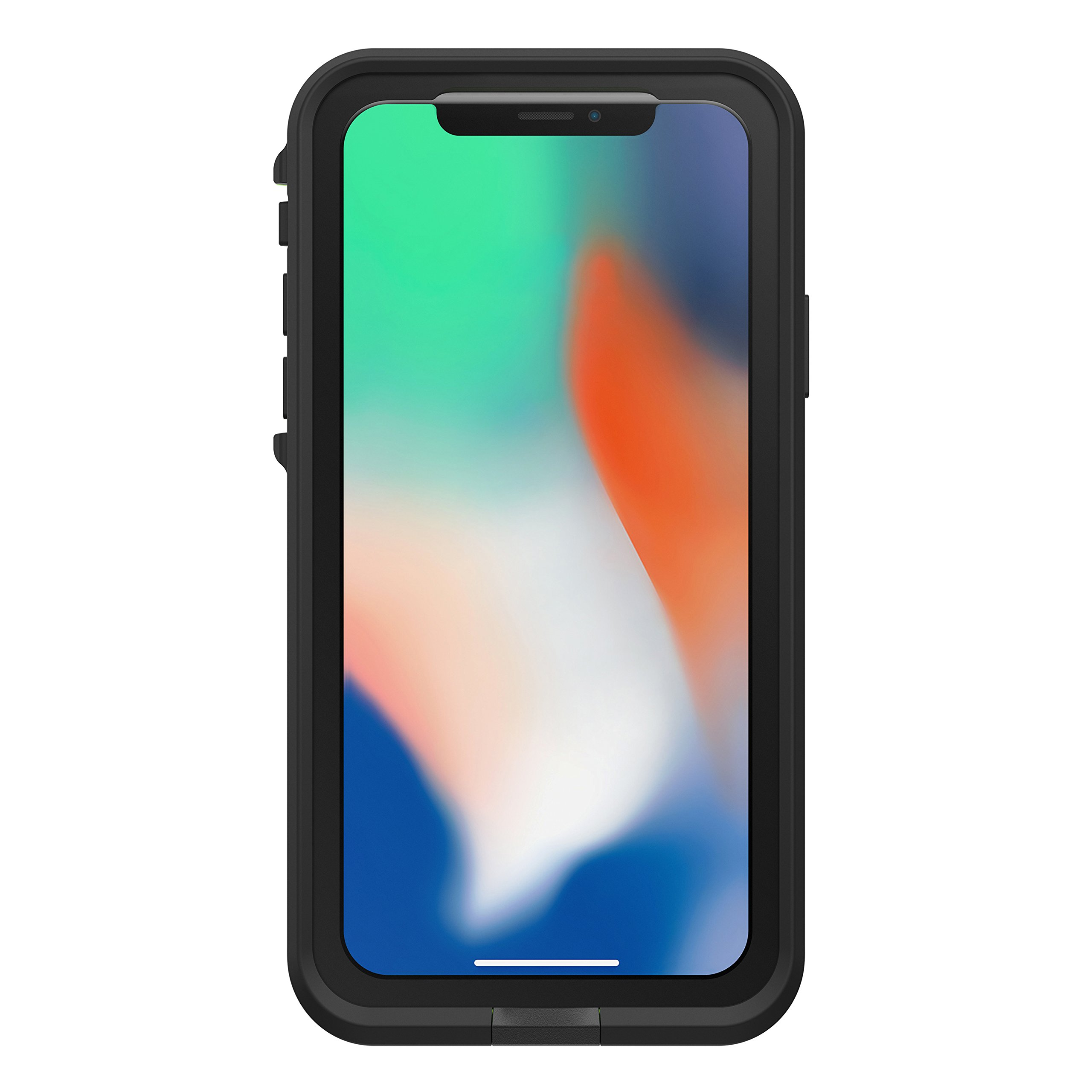 Lifeproof FRĒ SERIES Waterproof Case for iPhone X (ONLY) - Retail Packaging - NIGHT LITE (BLACK/LIME) by LifeProof (Image #4)