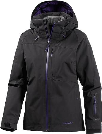 the best attitude 14648 4e55f Patagonia Damen Skijacke schwarz L: Amazon.de: Sport & Freizeit