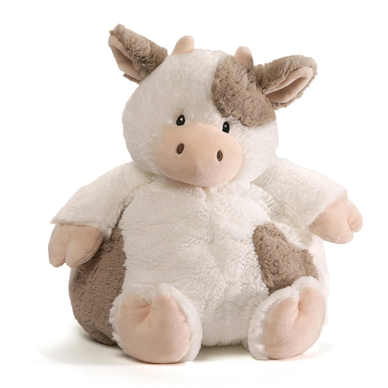 "Baby GUND Chub Cow Stuffed Animal Plush, 10"""