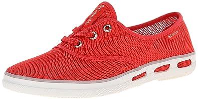 Womens Vulc N Vent Lace Mesh Low-Top Sneakers, Grey, B(M) US Columbia