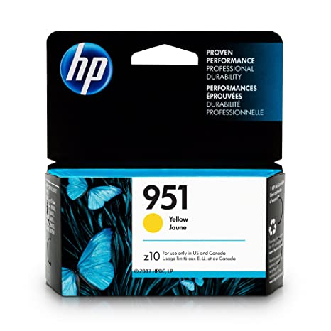 Amazon HP 951 Yellow Original Ink Cartridge CN052AN Office