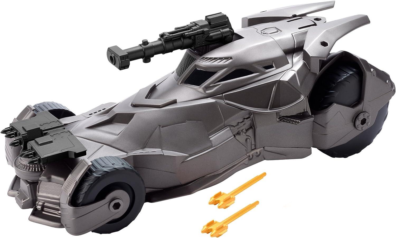 DC Justice League BATMAN™ Batmóvil superlanzamisiles, coche de Batman de juguete (Mattel FGH57)