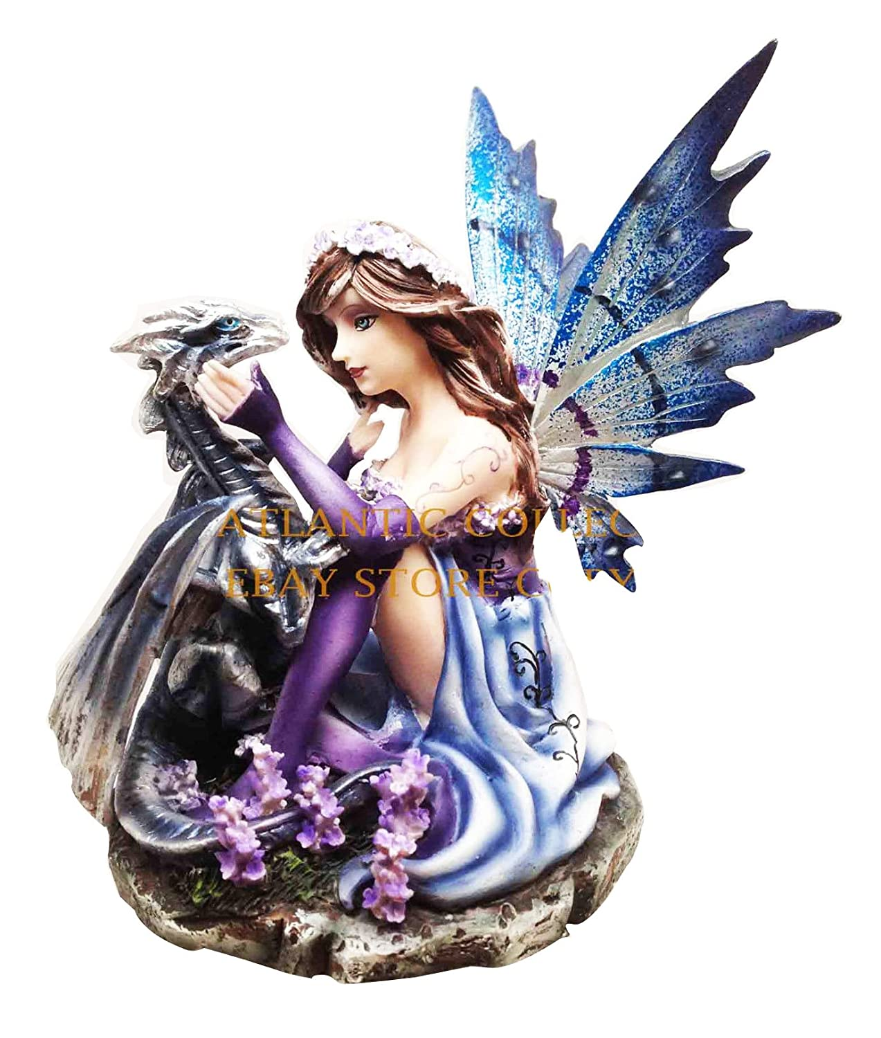 fantasy fairies and dragons figurines