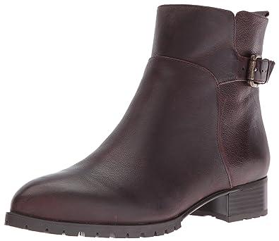 Nine West Women s Lenore Ankle Bootie Brown 6 ... 765d842442