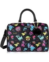 Betsey Johnson Nylon Weekender Duffle Bag