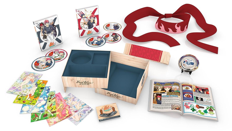 Food Wars!: The Second Plate: Season 2 Collection Premium Box Set [Blu-ray]