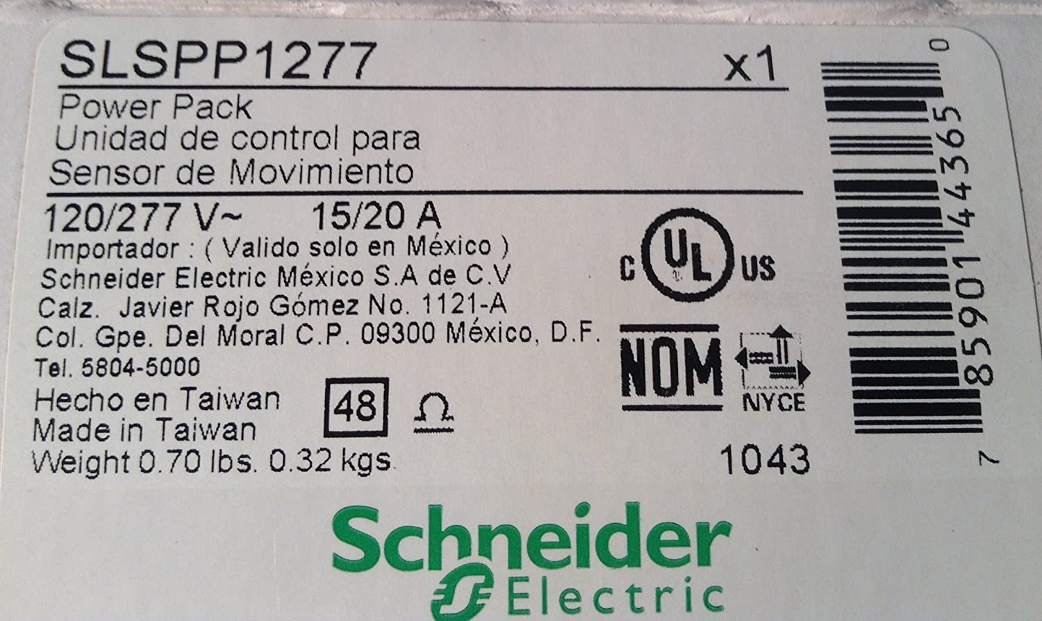 1- SQUARE D BY SCHNEIDER ELECTRIC SLSPP1277 POWER PACK - Electrical Equipment - Amazon.com