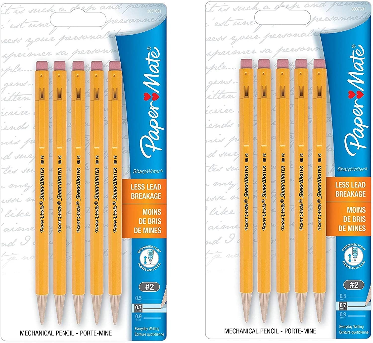 Lot of 60 NEW PaperMate SharpWriter Mechanical Pencil #2 0.7mm