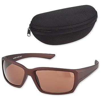 Modische Sonnenbrille für Sport und Freizeit braun Vw1n6n