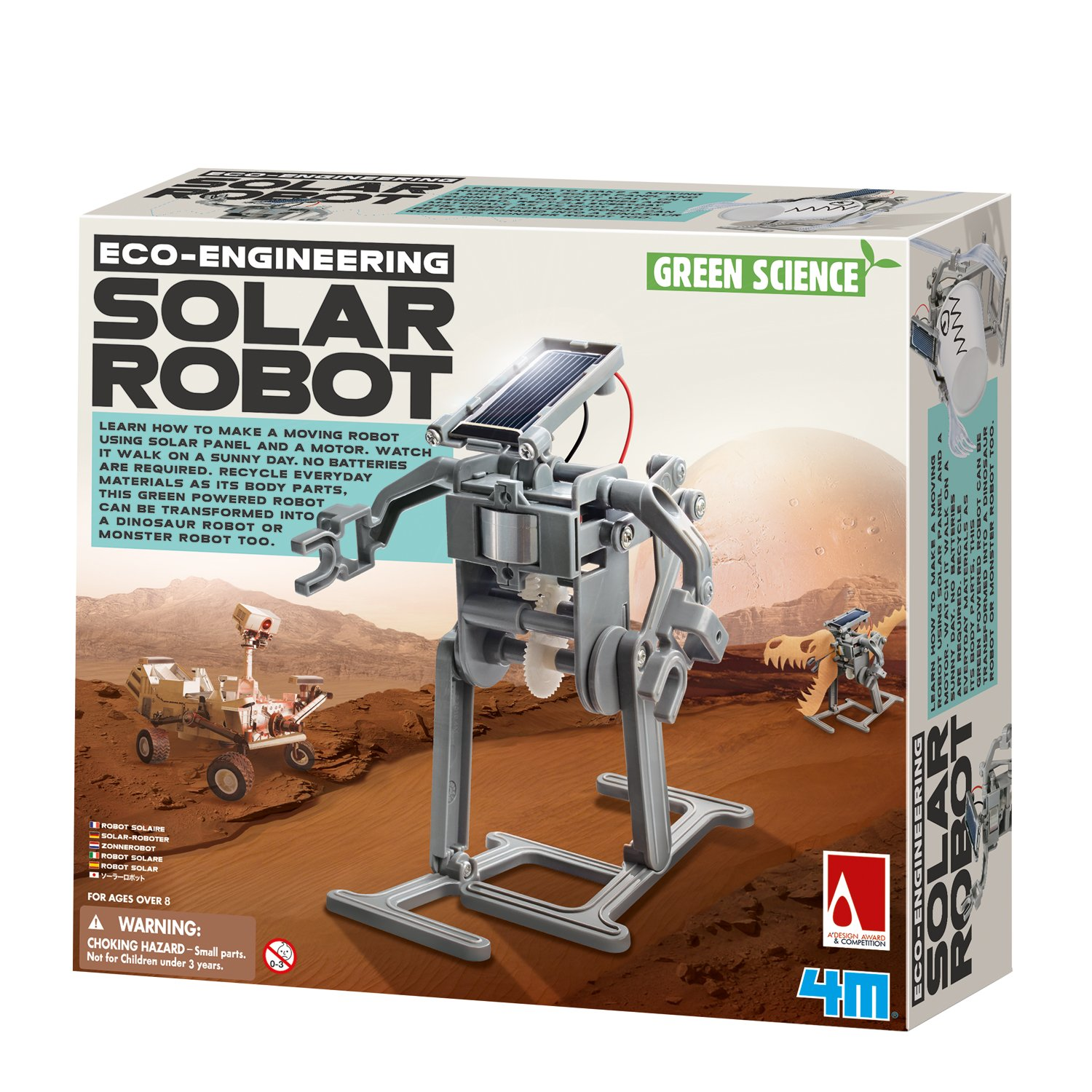 4M Solar Robot Kit by 4M