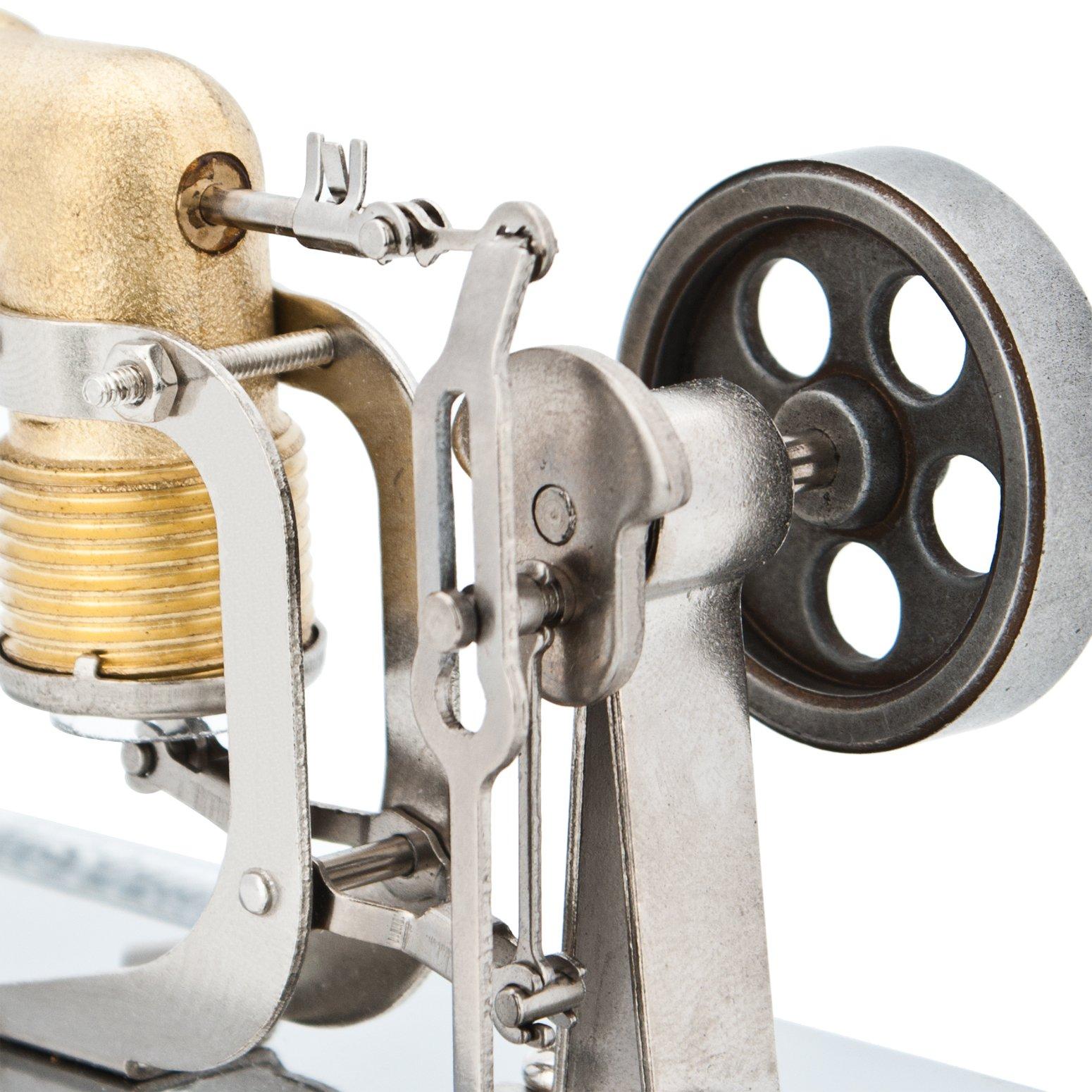 DjuiinoStar Mini Hot Air Stirling Engine: A High Performance Pocket-Sized Working Model by DjuiinoStar (Image #8)