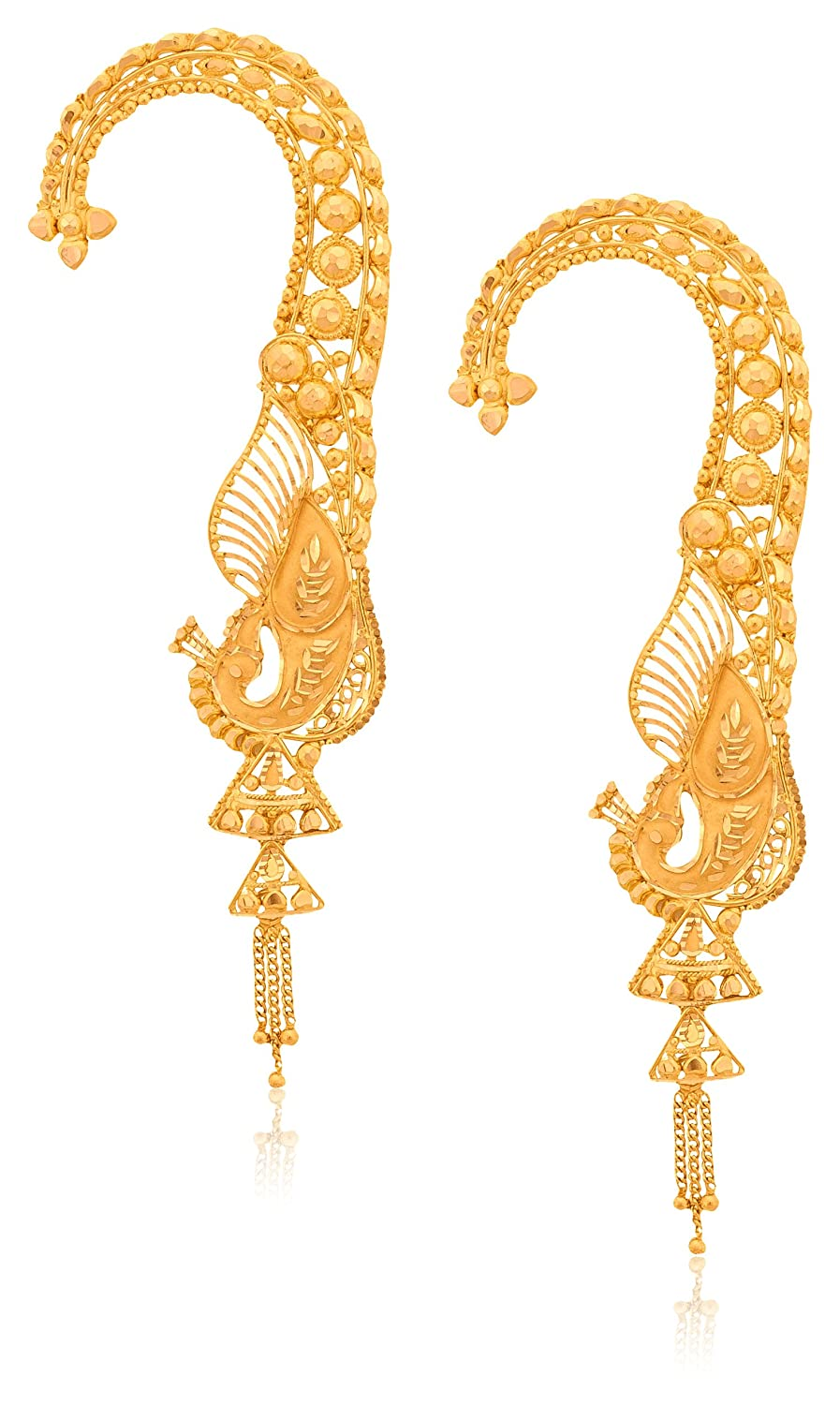 jhumka watch hoop youtube designs gold earrings with hoops
