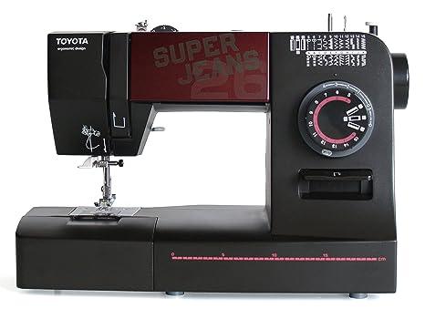 Toyota SUPERJ26 Allround - Máquina de coser (brazo libre, 26 programas y utilidad para