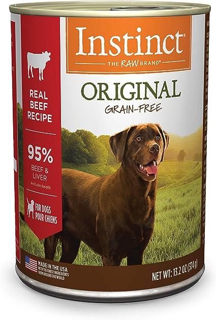 Amazon Com Instinct Original Grain Free Real Beef Recipe Natural