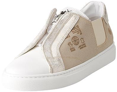 La Martina Cassetta, Zapatillas para Mujer, Bianco (White), 38 EU