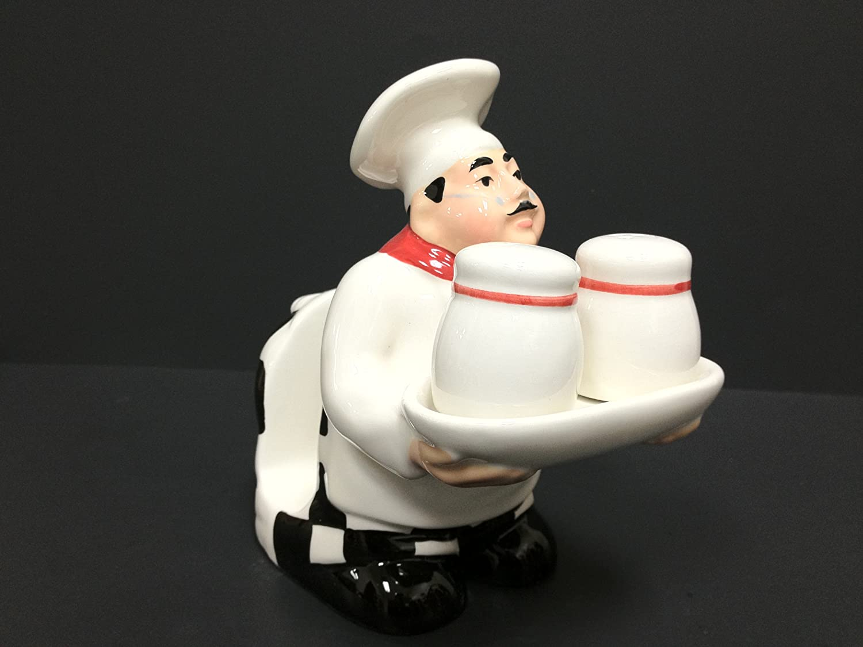 Fat Chef Salt Pepper/Napkin Holder