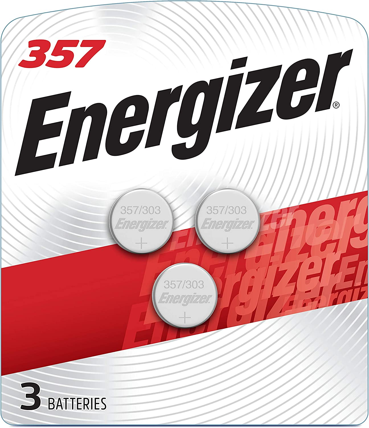 Amazon Com Energizer Lr44 Battery Silver Oxide 303 357 Ag13 Or Sr44 1 5 Volt Batteries 3 Battery Count Health Personal Care