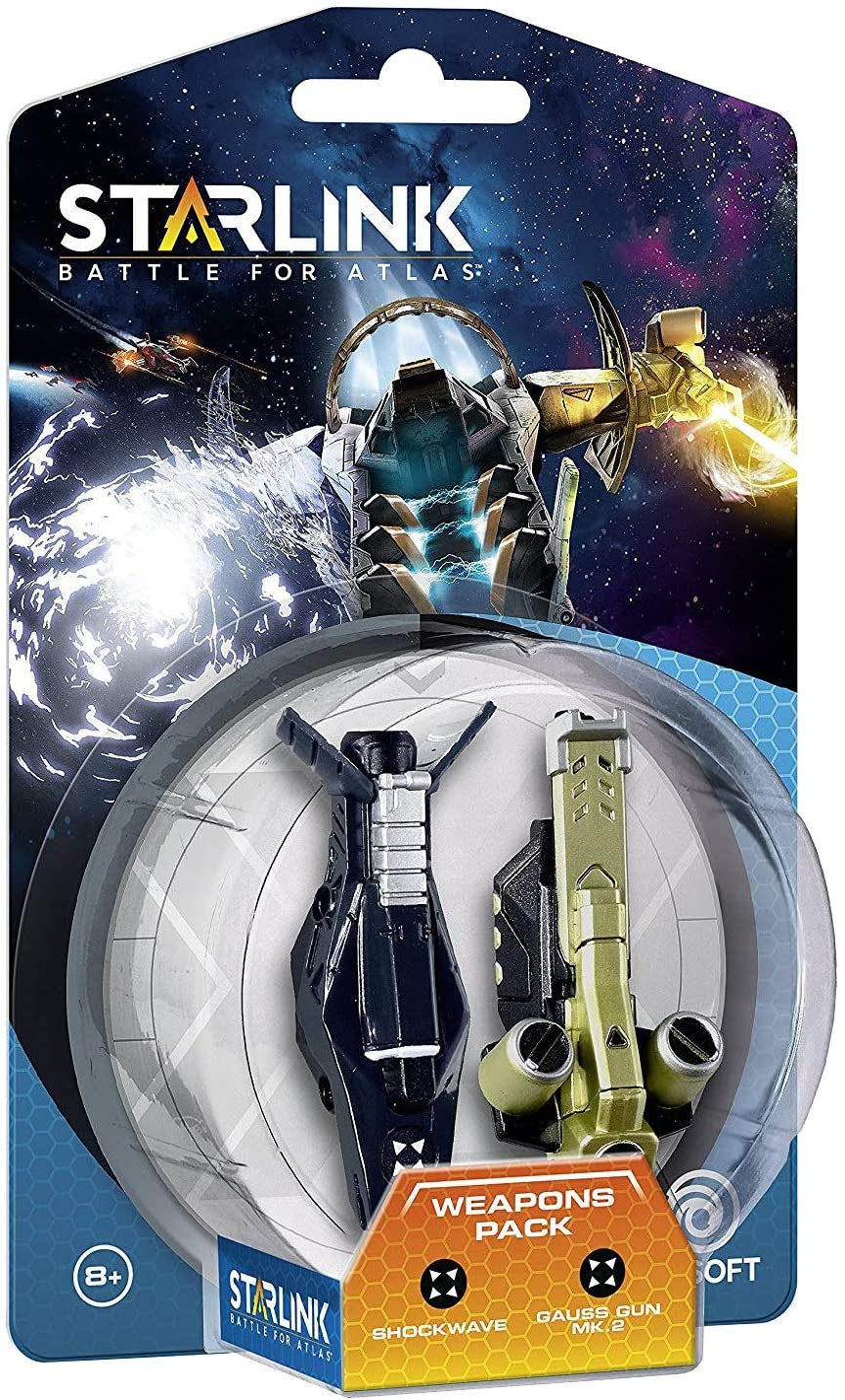 Starlink - Battle For Atlas, Pack De Armas Shockwave + Gauss