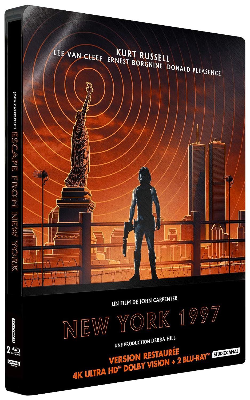 New York 1997 [Francia] [Blu-ray]: Amazon.es: Kurt Russell, Lee ...