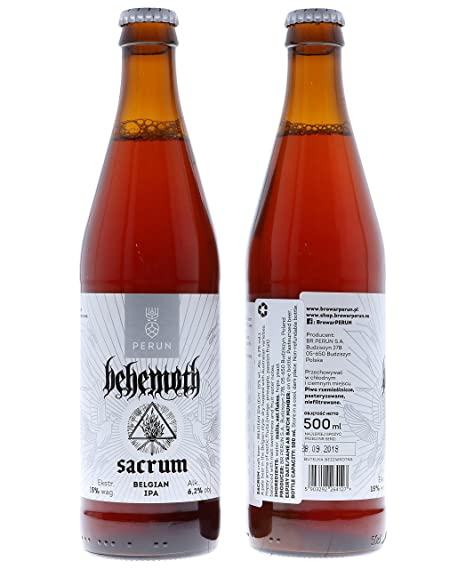 Behemoth Sacrum Craft Beer (10 x 0.5 ...
