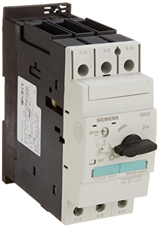 Siemens 3RV1021-4BA10 Motor Starter Protector Connection Short Circuit Breaking