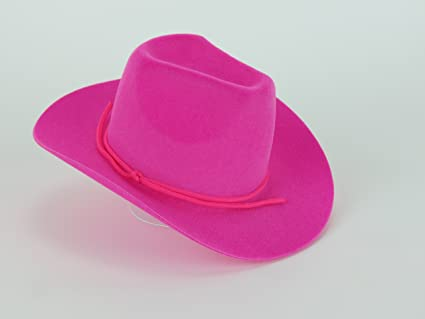 00f64aa96a9 Image Unavailable. Image not available for. Color  Hot Pink Western Cowgirl  Hat for 18 Inch Dolls -Fits 18 quot  American Girl Dolls