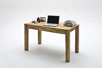 Bureau En Hetre Massif : Bureau «bureau enzo cm bois de hêtre massif avec