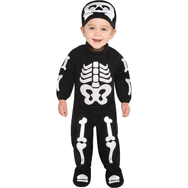 Brand New Itty Bitty Bones Skeleton Toddler Costume