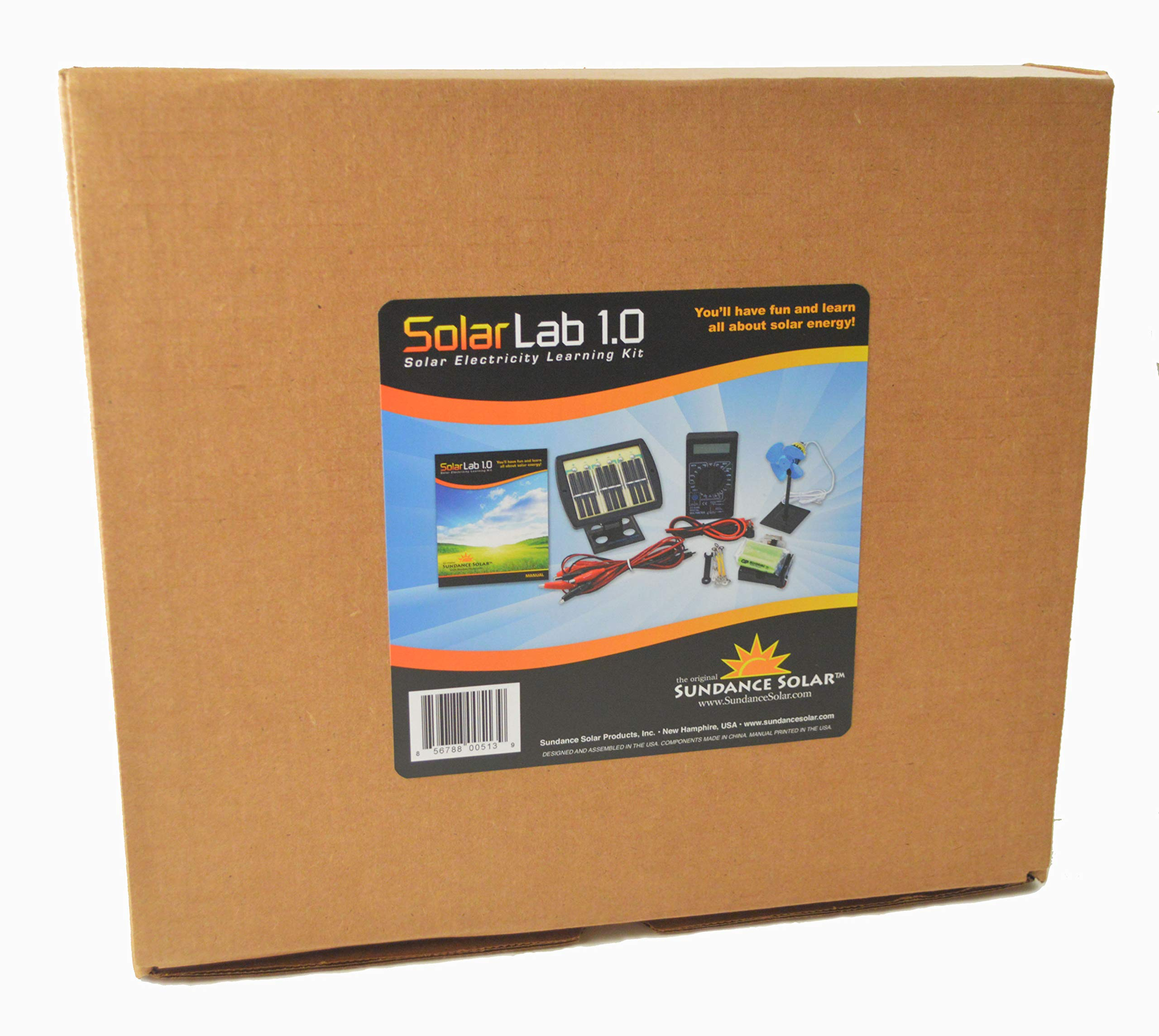 Solar Lab 1.0 Electricity Learning Kit by Sundance Solar