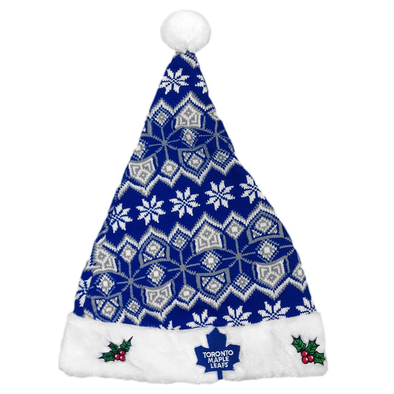 480e7ee25 Amazon.com   Toronto Maple Leafs Aztec Santa Hat - Size One Size   Sports    Outdoors