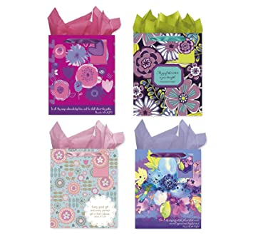 Amazon Christian Birthday Gift Bags With Tissue Paper
