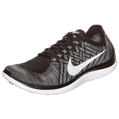 Nike Free 4.0 Flyknit, Herren Laufschuhe, Grau (Cool Grey