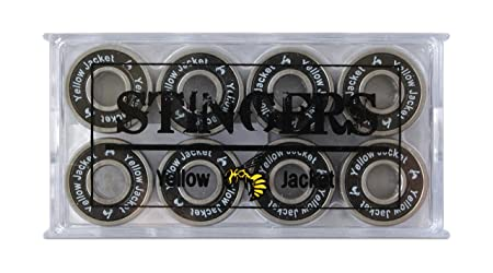 Yellow Jacket Premium Skateboard Bearings, Pro Longboard Bearings