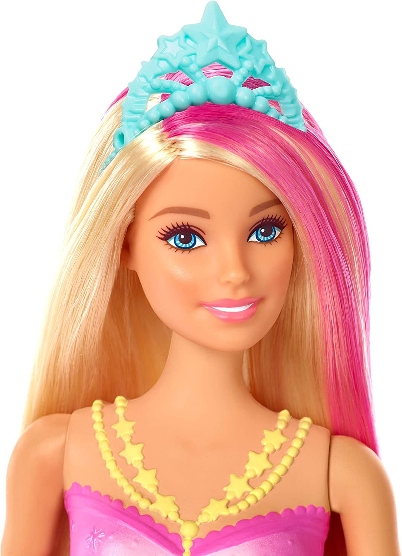 Amazon.es: Barbie Dreamtopia, Sirena rubia nada y brilla con ...