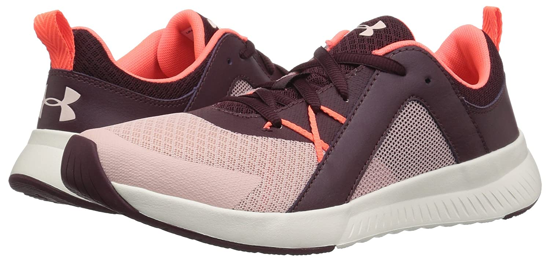 Under M Armour Women's Intent Trainer Sneaker B0773VXY3C 9 M Under US|Flushed Pink (601)/Dark Maroon 9c5e3c