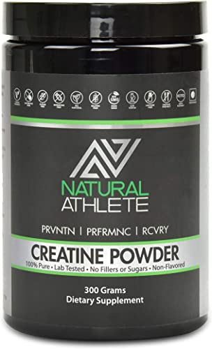 Pure Creatine Monohydrate Powder Supplement Build Lean Body Mass, Muscle Endurance Bodybuilding Nutrition 60 Servings