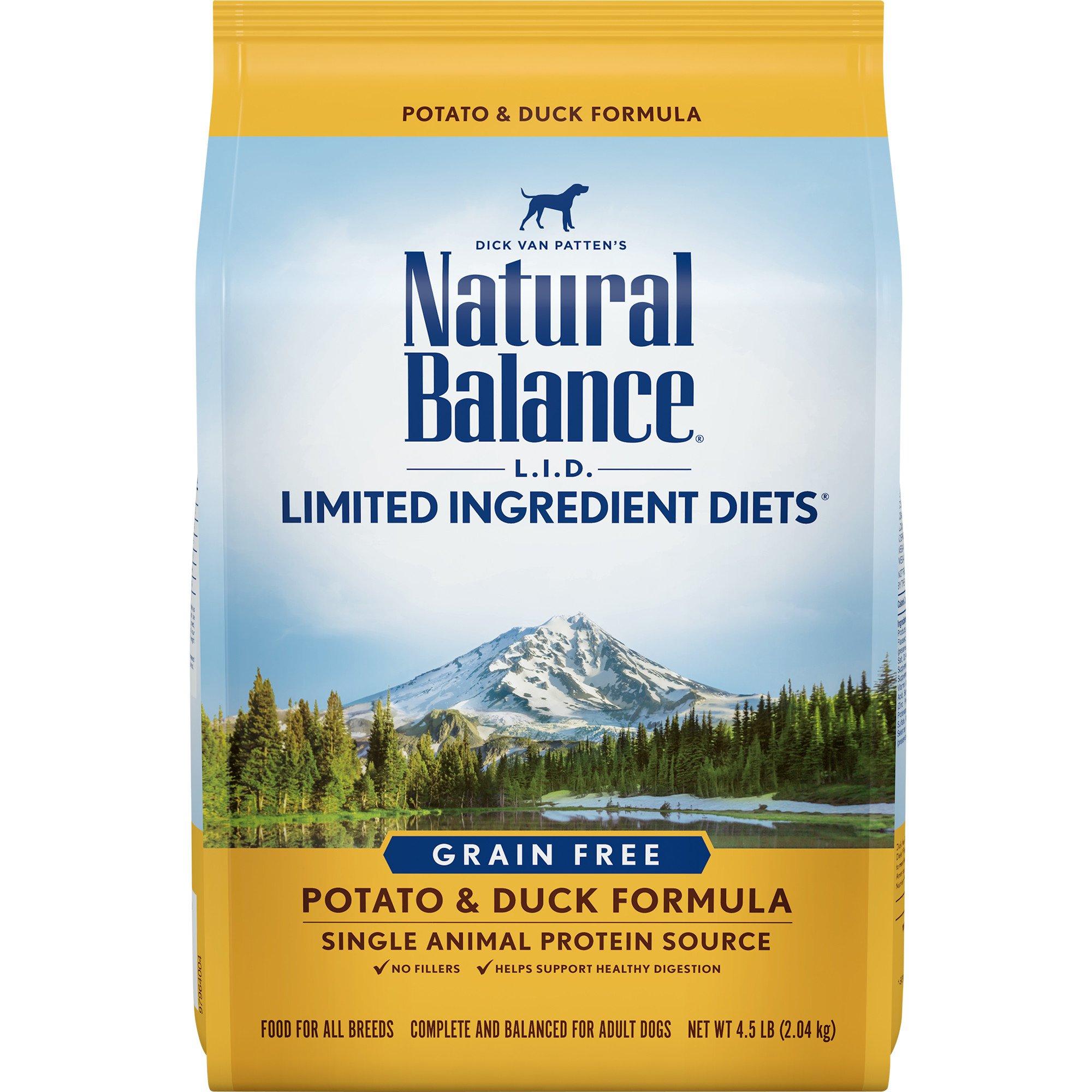 Natural Balance Duck And Potato Reviews