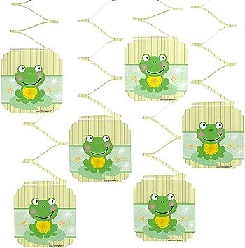 Amazon.com: Froggy Frog – Fiesta Decoración Colgante – 6 ...