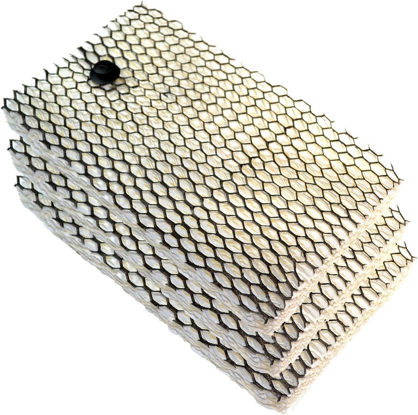BCM7204 BCM7207 BCM7203 HQRP Sous-verre BCM7203RC BCM7255 Humidificateurs HQRP Paquet de 3 filtres pour Bionaire BCM630 BCM7205 BCM4600 BCM4655
