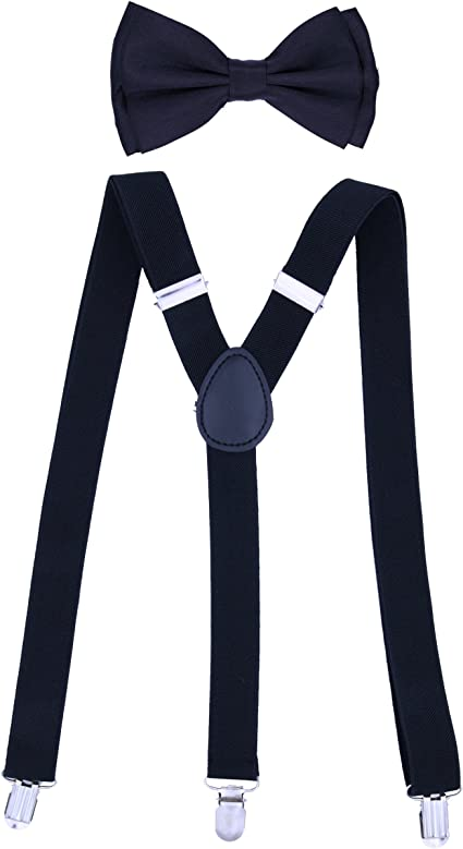 Awesome Multi Color Music Notes Suspenders Adjustable Fashion Y-shape Suspenders