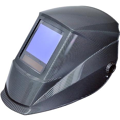 Antra AH7-X90-001X - Casco de soldadura con pantalla ancha 4/5-9/9-13, oscurecimiento automático, alimentación solar, control digital, clase óptica de alta ...