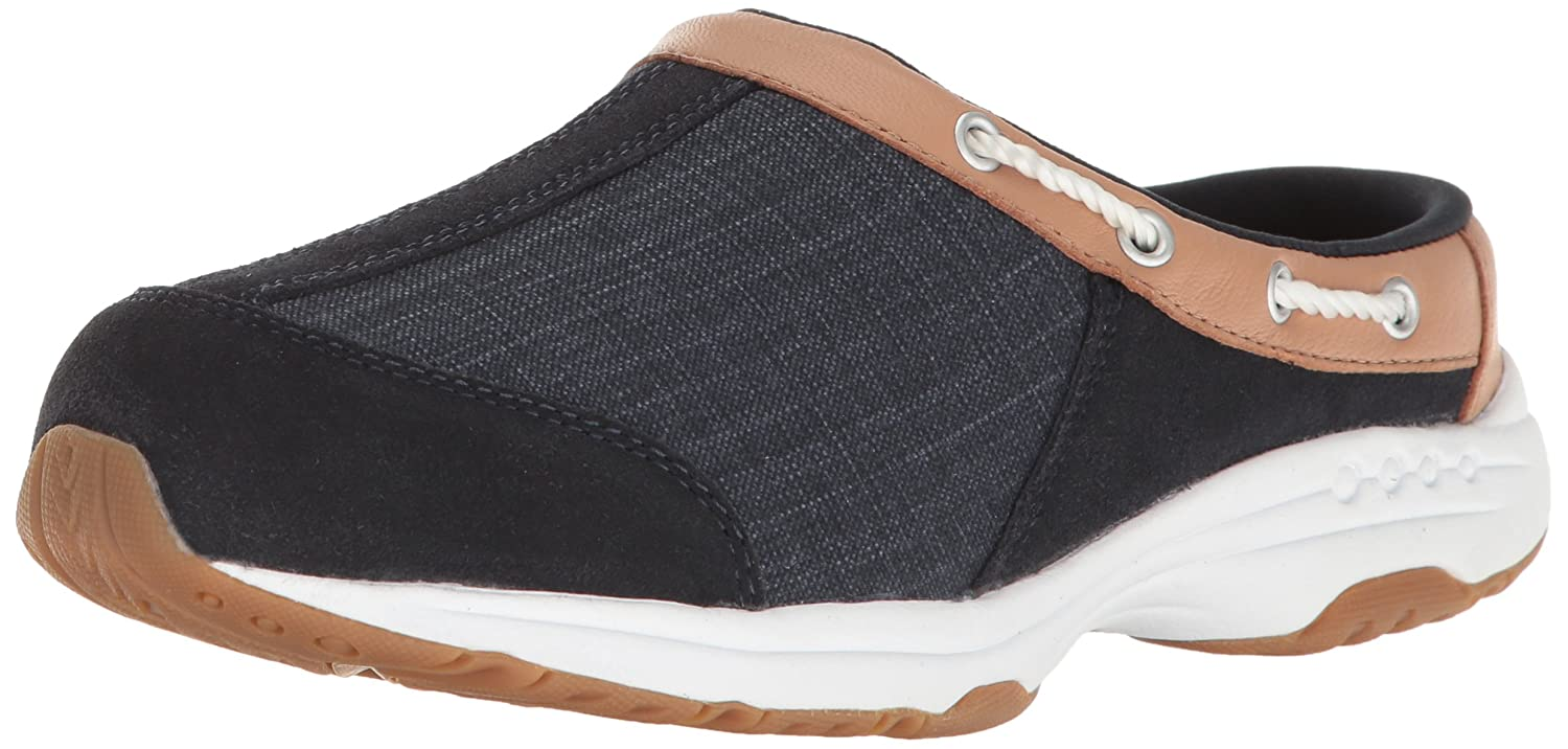 Easy Spirit Women's Travelport Mule B01N40IMHN 12 B(M) US|Navy Multi Suede