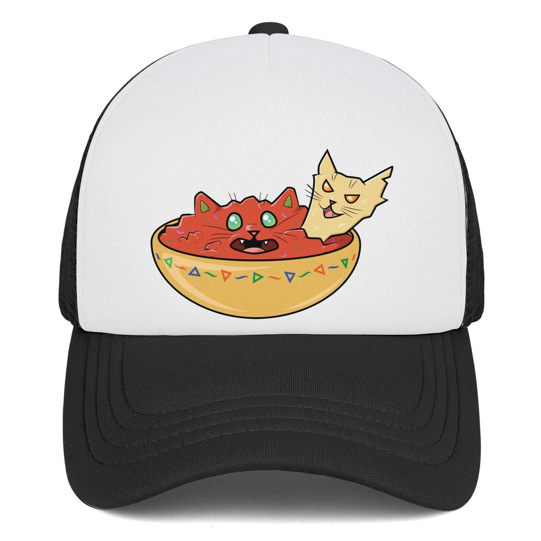 Salsa and Chip Cats Baseball Caps Men//Women Vintage Snapback Hat