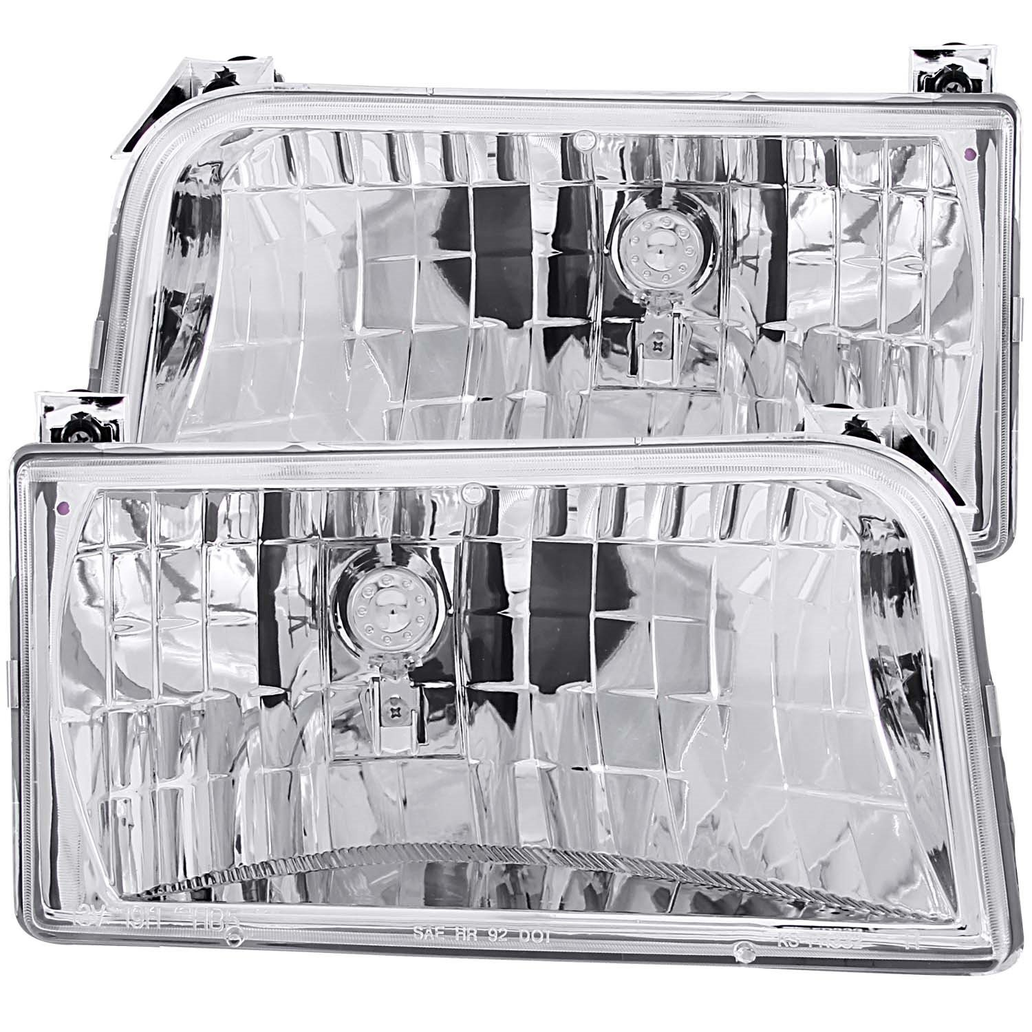 Amazon.com: Anzo USA 111247 Clear Headlight for Ford F-150/Bronco ...
